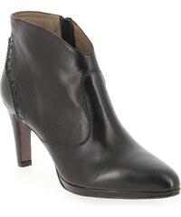 Boots Rosemetal J1036C Noir pour Femme en Cuir - Promo