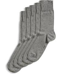 Esprit Lot de 5 paires de chaussettes, fine maille