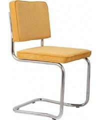 Zuiver Židle Ridge Kink Rib yellow