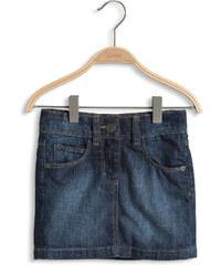 Esprit Jupe en jean 5 poches, taille ajustable
