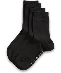 Esprit Chaussettes en fine maille x2 paires