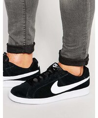 Nike - Court Royale - Baskets en daim 819802-011 - Noir