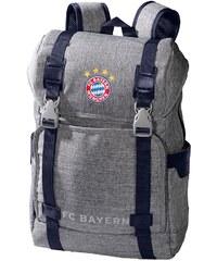 FC Bayern München Rucksack grau melange