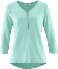 bpc bonprix collection T-shirt manches 3/4 vert femme - bonprix