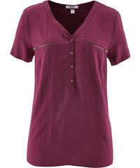 bpc bonprix collection Blouse en viscose demi-manches violet femme - bonprix