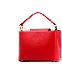 Kožená kabelka Isabelle červená