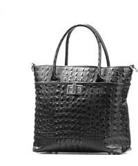 Kožená kabelka Carolina černá