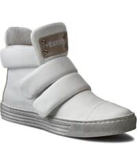 Sneakersy CARINII - O3512 Nappa Biała