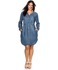 Damen by Blusenkleid BY S.OLIVER blau 40,42,44,46,48,50