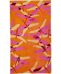 Strandtuch Dragonfly mit Libellen Motiven Esprit orange 1xStrandtuch 100x180 cm