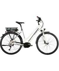 CORRATEC Corratec City E-Bike 28 Zoll 10 Gg Kettensch Mittelmotor E-Power 28 Active 10s Lady 400W weiß RH 48 cm,RH 51 cm,RH 54 cm