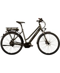 Corratec Da-City E-Bike,28 Z Nuvinci Schalt Mittelmotor E-Power 28 Nuvinci Active Lady 400W CORRATEC grau RH 45 cm,RH 48 cm