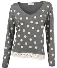 RICK CARDONA Damen Oversized-Pullover grau 34,36/38,40/42,44/46,48/50,52/54