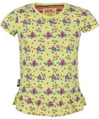 Loap Indara dětské triko/krátký rukáv žlutá 104