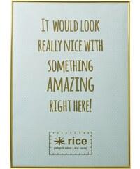 Rice Rám Gold 50x70