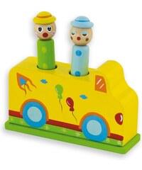 ANDREU Toys Vystřelovací cirkus autíčko