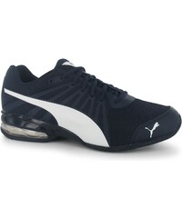 Puma Jago Leather Mens Trainers Navy