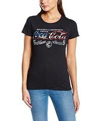 Coca-Cola Damen T-Shirt Usa Fountains