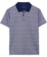 GANT Polo Jersey à Manches Courtes Et Rayures - Persian Blue
