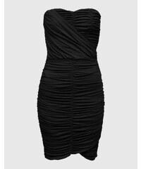 EDITED the label Trägerloses Kleid aus Viskose 'Joy'