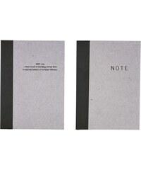 House Doctor Papírový notýsek Notes A6 Nápis