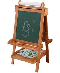 KidKraft® Beidseitig beschreibbare Tafel mit Papierrolle, natur