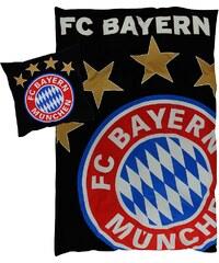FC Bayern München Bettwäsche glow in the dark, schwarz