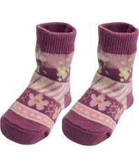 Playshoes Unisex - Baby Socken Erstlingssocke Blümchen