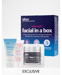Bliss ASOS - Night Night - Exclusives Gesichtsbehandlungs-Set in einer Box - Transparent
