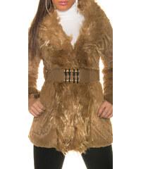 Dámský kabát/kožíšek