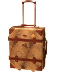 Cestovní kufr Dielle S 1950-50-44 hnědá