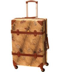 Cestovní kufr Dielle M 1950-60-44 hnědá