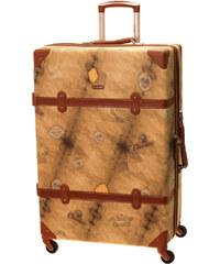 Cestovní kufr Dielle L 1950-70-44 hnědá