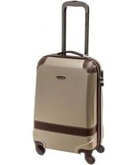 Cestovní kufr Dielle S 210-50-36 šampaňská