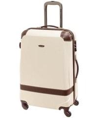 Cestovní kufr Dielle M 210-60-24 kašmírová