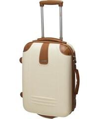 Cestovní kufr Dielle SX 255-50k-24 krémová