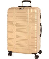Cestovní kufr Dielle L 350-70-67 béžová