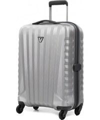 Cestovní kufr Roncato Uno ZIP ZSL S 5083-0225 stříbrná