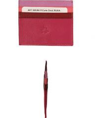 Pouzdro na karty Carraro Rainbow 569-RA-30 růžová