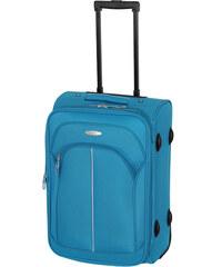 Cestovní kufr d&n S 7250-06 tyrkysová
