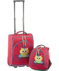 Kufr a batoh Travelite Youngster 81770-10 červená