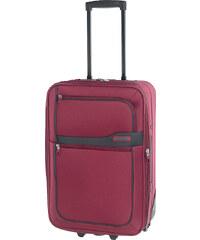 Cestovní kufr d&n S 9350-12 červená