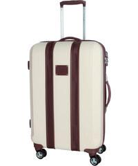 Beverly Hills Cestovní kufr BHPC Mississippi M BH-240-60-24 krémová