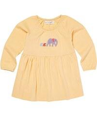 Sense Organics Baby - Mädchen Langarmshirt Edith Baby Tunika Elefantenfamilie