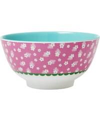 Rice Melaminová miska Flower pink