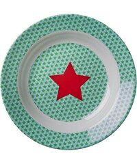Rice Hluboký melaminový talířek Star