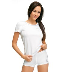 MrsFitness Triko Victoria bílá XL