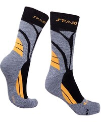 Spaio Ponožky Thermo line merino šedožlutá 44-46