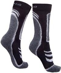 Spaio Ponožky Thermo line trekking černošedá 44-46