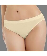 Hanna Style Kalhotky Light6162- jemné a neprůhledné béžová XL
